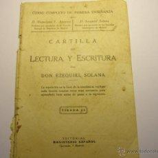 Libros antiguos: CARTILLA DE LECTURA Y ESCRITURA, AÑO 1928. . Lote 47194331