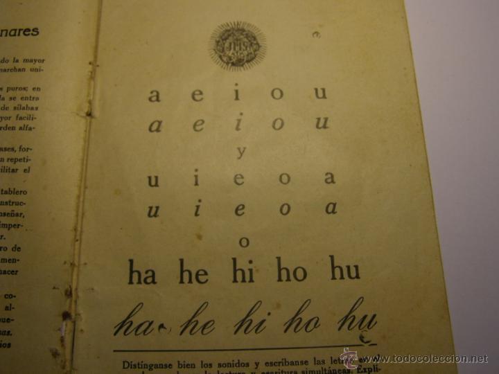 Libros antiguos: Cartilla de lectura y escritura, año 1928. - Foto 3 - 47194331