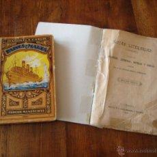 Libros antiguos: PAISES Y MARES + HOJAS LITERARIAS. Lote 89799346