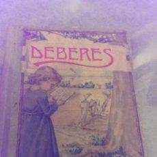 Libros antiguos: LIBRO DALMAU CON TITULO DEBERES UTILIZADO EN LAS ESCUELAS NACIONALES AÑO 1932. Lote 47395786