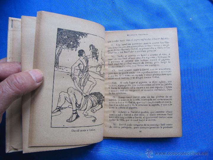Libros antiguos: NOCIONES DE HISTORIA SAGRADA. SEGUNDO GRADO. EDITORIAL SATURNINO CALLEJA, MADRID, 1922. - Foto 4 - 47481906