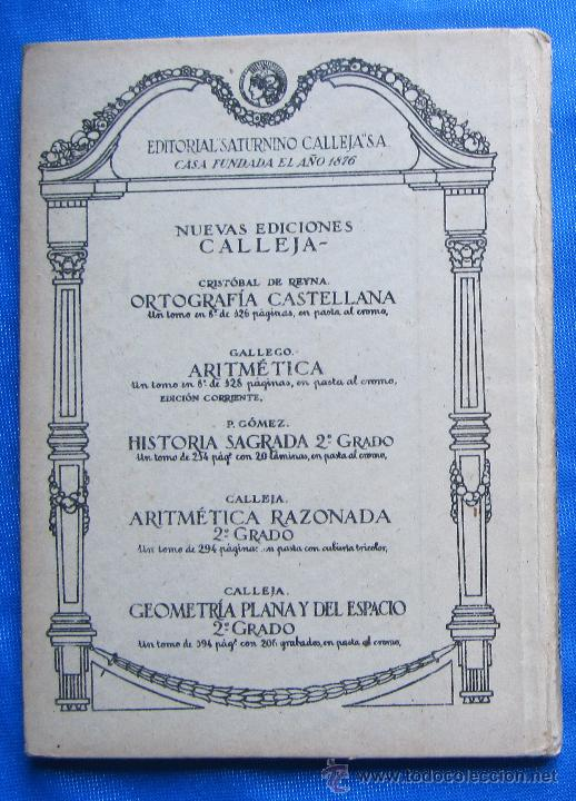 Libros antiguos: NOCIONES DE HISTORIA SAGRADA. SEGUNDO GRADO. EDITORIAL SATURNINO CALLEJA, MADRID, 1922. - Foto 6 - 47481906