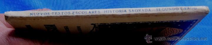 Libros antiguos: NOCIONES DE HISTORIA SAGRADA. SEGUNDO GRADO. EDITORIAL SATURNINO CALLEJA, MADRID, 1922. - Foto 7 - 47481906