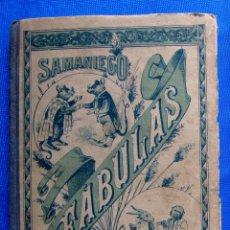 Libros antiguos: FABULAS EN VERSO CASTELLANO POR D. FELIX MARIA SAMANIEGO. EDITORIAL SATURNINO CALLEJA, 1901.. Lote 47483619