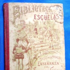 Libros antiguos: BIBLIOTECA DE LAS ESCUELAS. HIGIENE Y ECONOMIA. TOMO XIII. SATURNINO CALLEJA EDITOR, 1901.. Lote 47540407