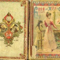 Libros antiguos: C. YEVES : GUÍA DEL AMA DE CASA (SUC. HERNANDO, 1913) TEXTO ESCOLAR. Lote 116405450