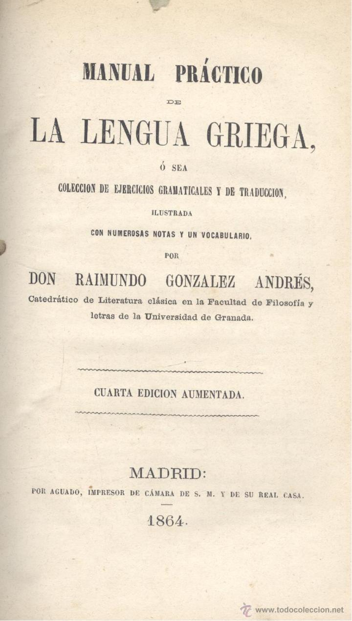 raimundo gonzález andrés. manual práctico de le - Comprar Libros ...
