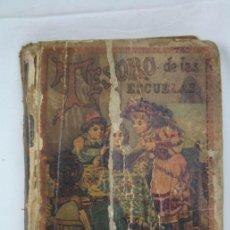Libros antiguos: LIBRO TESORO DE LAS ESCUELAS. PARRAVICINI - ED. S. CALLEJA, AÑO 1903. Lote 48275421