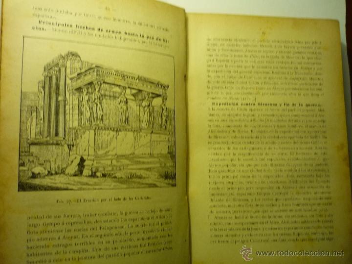 Libros antiguos: LIBRO HISTORIA GENERAL .-MANUEL SALES FERRE. 1905 2ª EDIC. - Foto 2 - 48390171
