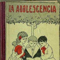 Libros antiguos: GUAÑABENS : LA ADOLESCENCIA TERCER LIBRO DE LECTURA(ELZEVIRIANA CAMÍ, 1925). Lote 48573197