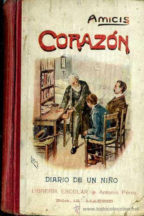 Edmundo De Amicis Coraz 243 N Librer 237 A Escolar D Comprar