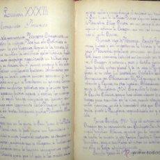 Libros antiguos: LECCIONES DE HISTORIA DE ESPAÑA MANUSCRITO IMPRESO 1884. Lote 48671158