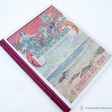 Libros antiguos: A TRAVES DEL MAR / P. PASCUAL SANJUAN / ED. BASTINOS 1910 / ILUSTRADO / LIBRO ESCOLAR. Lote 48861848