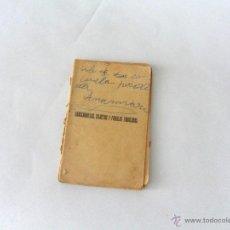 Libros antiguos: LIBRO. CHASCARRILLOS, SILUETAS Y FÁBULAS FABULOSAS. E. DE LA R. DIBUJOS DE MANSO Y ARVERAS. MADRID.. Lote 49272827