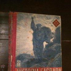 Libros antiguos: ANTIGUO LIBRO ESCOLAR HISTORIA SAGRADA SEGUNDO GRADO POR EDELVIVES EDITORIAL LUIS VIVES ZARAGOZA . Lote 49303072