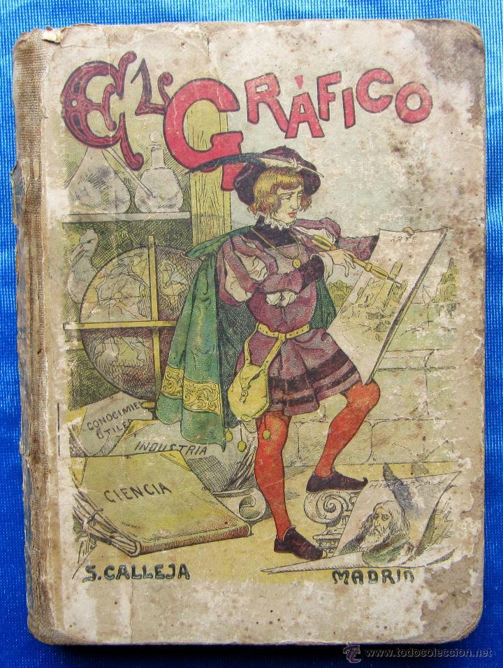 EL GRÁFICO. EL PENSAMIENTO INFANTIL. SEXTA PARTE. EDITORIAL SATURNINO CALLEJA, MADRID, S/F. (Libros Antiguos, Raros y Curiosos - Libros de Texto y Escuela)