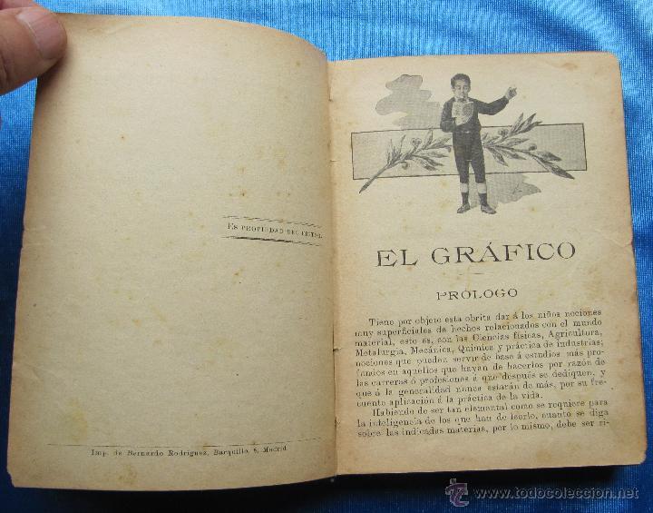 Libros antiguos: EL GRÁFICO. EL PENSAMIENTO INFANTIL. SEXTA PARTE. EDITORIAL SATURNINO CALLEJA, MADRID, S/F. - Foto 3 - 49910637