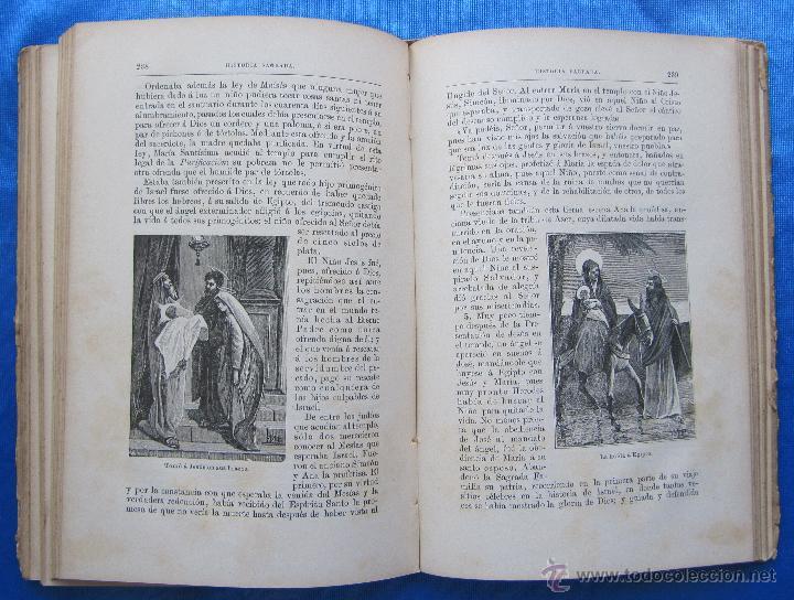 Libros antiguos: HISTORIA SAGRADA. POR EL RVDO. PEDRO GÓMEZ. EDITORIAL SATURNINO CALLEJA, MADRID, 1899. - Foto 5 - 49936329