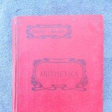 Libros antiguos: ÁLGEBRA. POR I. SALINAS Y ANGULO Y M. BENITEZ Y PARODI. ED. SUCESORES DE HERNANDO. MADRID 1916. Lote 50094398
