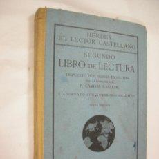 Libros antiguos: SEGUNDO LIBRO DE LECTURA - HERDER EL LECTOR CASTELLANO - 1913. Lote 50117699