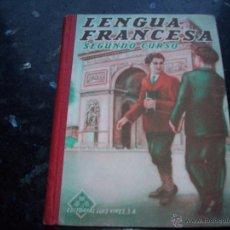 Libros antiguos: LENGUA FRANCESA DE LUIS VIVES . IMPRESO EN 1949. Lote 50147845