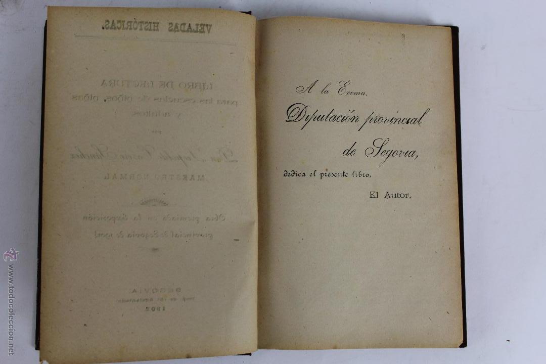 Libros antiguos: L- 1918. VELADAS HISTORICAS. LEOPOLDO CASERO SANCHEZ. 1902. - Foto 2 - 50304817