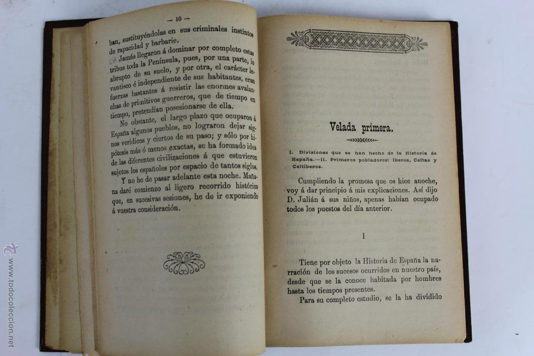 Libros antiguos: L- 1918. VELADAS HISTORICAS. LEOPOLDO CASERO SANCHEZ. 1902. - Foto 3 - 50304817