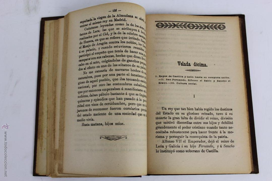 Libros antiguos: L- 1918. VELADAS HISTORICAS. LEOPOLDO CASERO SANCHEZ. 1902. - Foto 5 - 50304817