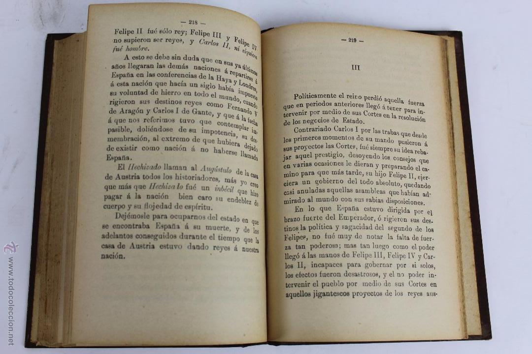 Libros antiguos: L- 1918. VELADAS HISTORICAS. LEOPOLDO CASERO SANCHEZ. 1902. - Foto 6 - 50304817