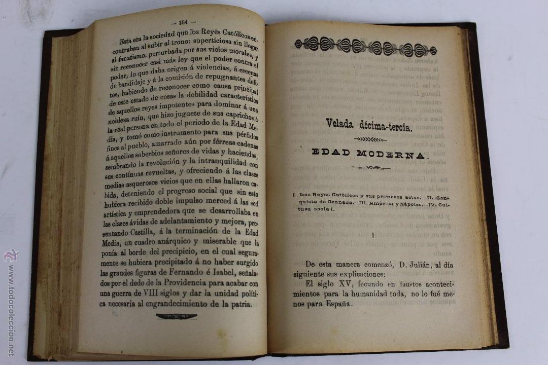 Libros antiguos: L- 1918. VELADAS HISTORICAS. LEOPOLDO CASERO SANCHEZ. 1902. - Foto 7 - 50304817
