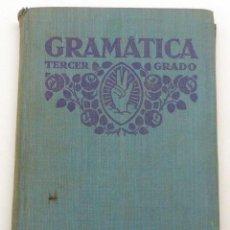 Libros antiguos: GRAMÁTICA TERCER GRADO EDELVIVES LUIS VIVES AÑOS 30. Lote 50305885