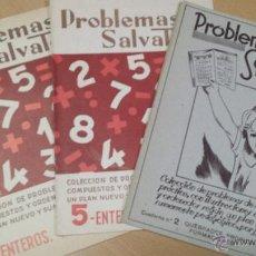 Libros antiguos: PROBLEMAS ARITMÉTICA ESCOLAR COLEGIO SALVATELLA. Lote 50598141