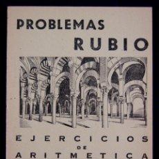 Libros antiguos: PROBLEMAS RUBIO. CUADERNO 17. SIN USAR. EJERCICIOS DE ARITMETICA. SEGUNDA PARTE.1959.ESCUELA-ESCOLAR. Lote 133733974