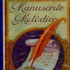 Libros antiguos: MANUSCRITO METÓDICO - ANTONIO BORI Y FONTESTÁ. EDITORIAL STUDIUM, 1894. 1ª EDICIÓN. Lote 51386221