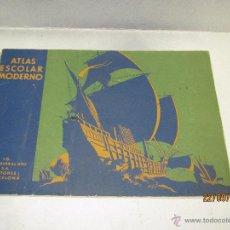 Libros antiguos: ANTIGUA ATLAS ESCOLAR MODERNO POR P. VILA DE SEIX BARRAL HERMANOS- AÑO 1930S.. Lote 51475880