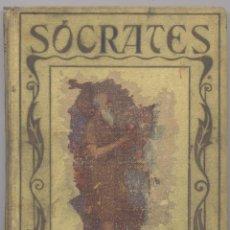 Libros antiguos: SOCRATES-MANUEL VALLVE- EDICION 1930. Lote 51697751