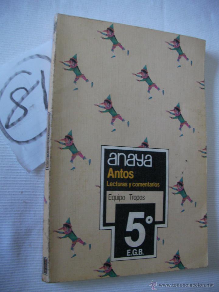 ANTIGUO LIBRO DE TEXTO - 5 º EGB - ANAYA (Libros Antiguos, Raros y Curiosos - Libros de Texto y Escuela)