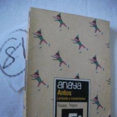 Libros antiguos: ANTIGUO LIBRO DE TEXTO - 5 º EGB - ANAYA. Lote 51711155
