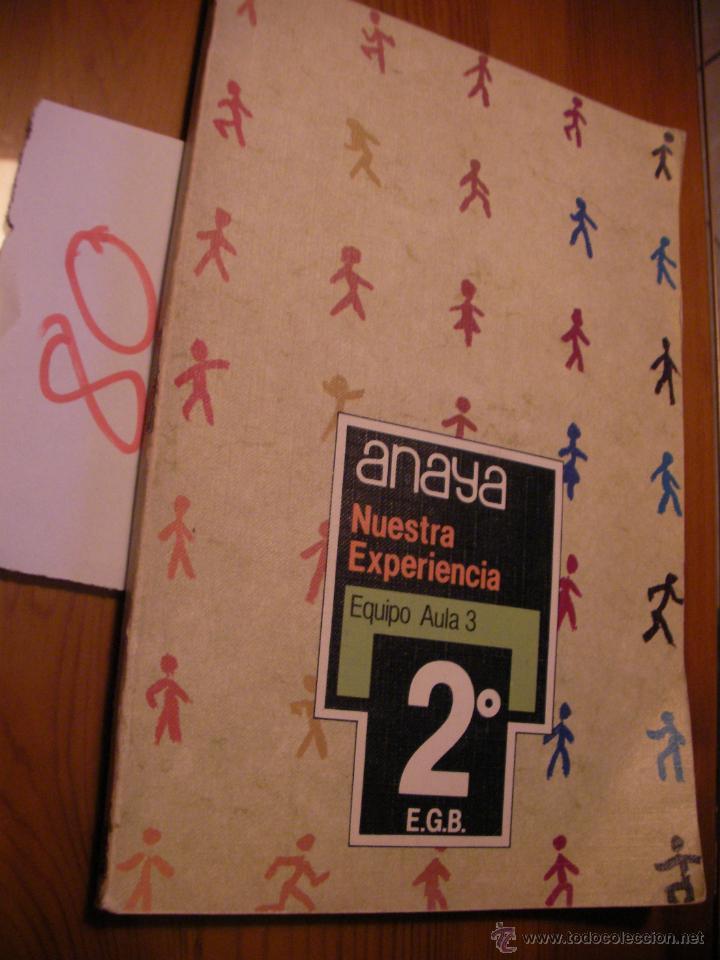 ANTIGUO LIBRO DE TEXTO - 2º EGB - ANAYA (Libros Antiguos, Raros y Curiosos - Libros de Texto y Escuela)