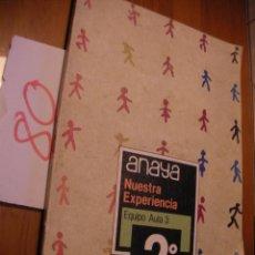 Libros antiguos: ANTIGUO LIBRO DE TEXTO - 2º EGB - ANAYA. Lote 51743433