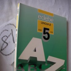 Libros antiguos: ANTIGUO LIBRO DE TEXTO - 3º EGB - LENGUAJE - EDEBE. Lote 52006706