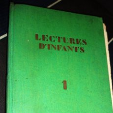Livros antigos: LECTURES D'INFANTS 1 AÑO 1930 . A. PASCUAL . ASSOCIACIÓ PROTECTORA ENSENYANÇA CATALANA. Lote 190118058