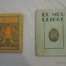Libros antiguos: LOTE DE LIBROS ESCOLARES ANTIGUOS DE ENTRE 1928 Y 1931. Lote 52657994