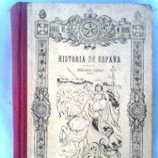 Libros antiguos: LIBRO 1929 DE HISTORIA DE ESPAÑA PARA EL COLEGIO. Lote 52676162
