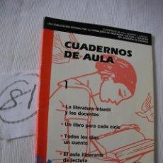Libros antiguos: CUADERNOS DE AULA. Lote 52768314