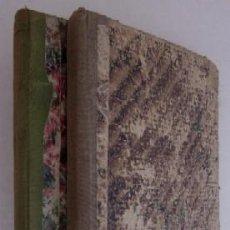 Libros antiguos: CUADERNOS DE LECTURA PARA USO DE LAS ESCUELAS - 2 TOMOS: PRIMER Y SEGUNDO GRADO - AÑO 1880. Lote 52830488