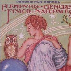 Alte Bücher - elementos de ciencias fisico naturales - 50650727