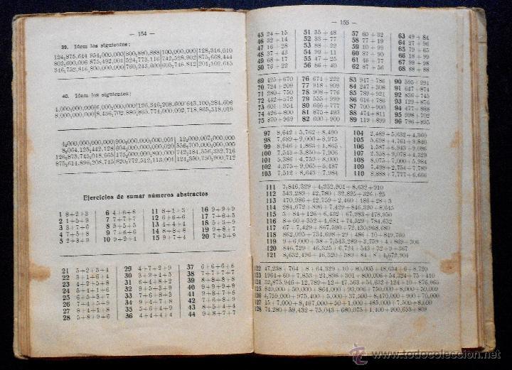 Libros antiguos: LECCIONES DE ARITMÉTICA - D. JOSÉ DALMAU CARLES - LIBRO DEL ALUMNO - 1ª PARTE GRADO SUPERIOR - 1931 - Foto 3 - 52988652