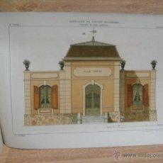 Libros antiguos: PRINCIPIOS ELEMENTALES DE DIBUJO LINEAL LAVADO - LITOGRAFIA PUJADAS OLIVER - DIBUJOS E. LAFORET. Lote 53112149