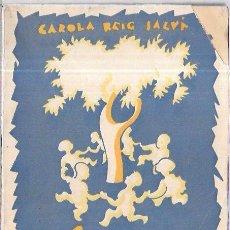 Libros antiguos: LENGUA ESPAÑOLA. CAROLA REIG SALVA. PRIMER CURSO. EDIR-VALENCIA. 96 PAGS. 21,2 X 15,3 CM. Lote 53249803